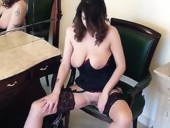 Babe Big Tits Ebony Hairy Masturbation