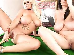 Babe Big Tits Cumshot Lesbian