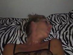 Babe Blonde Close Up MILF