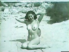 Beach Brunette Softcore Vintage