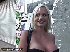 Anal Blonde Double Penetration Interracial