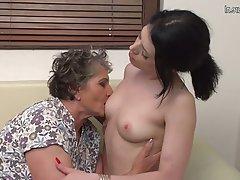 Lesbian Granny Mature Hairy