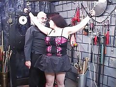 BDSM Big Boobs Brunette Mature Lingerie