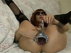 Anal Lingerie Masturbation