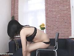 Anal Babe Big Tits Casting Cumshot