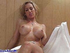 Blonde Femdom Lesbian