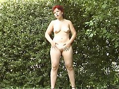 Babe Outdoor Redhead Softcore