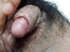 Amateur Asian Hairy Masturbation