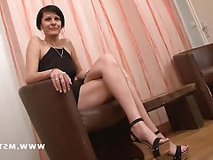 Amateur Babe Casting Mature French