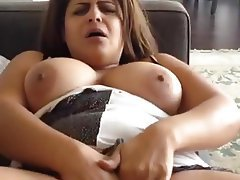 BBW Big Boobs Masturbation Orgasm