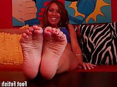 BDSM Femdom Foot Fetish POV