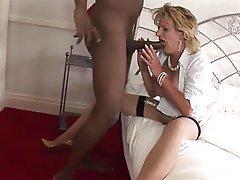 Big Boobs Blonde British Interracial