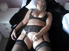 Masturbation Stockings Orgasm Mature