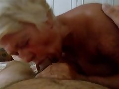 Italian Granny Blowjob