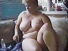 BBW Big Boobs Masturbation Mature MILF