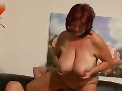 Cumshot Old and Young Anal