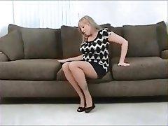 Femdom Foot Fetish Stockings