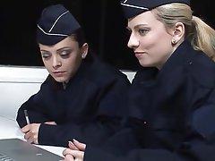 Blonde Brunette French Lesbian